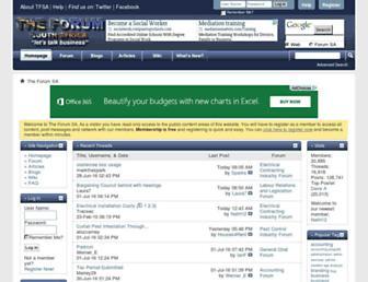 theforumsa.co.za screenshot