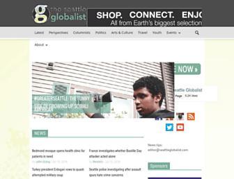 seattleglobalist.com screenshot