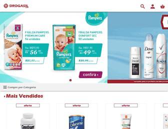 drogasil.com.br screenshot