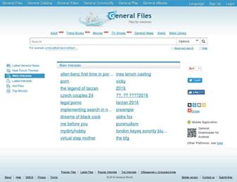 Thumbshot of Generalfil.es