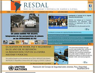 resdal.org screenshot