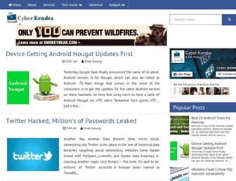 Thumbshot of Cyberkendra.com