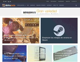 dekazeta.net screenshot