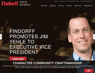 findorff.com screenshot