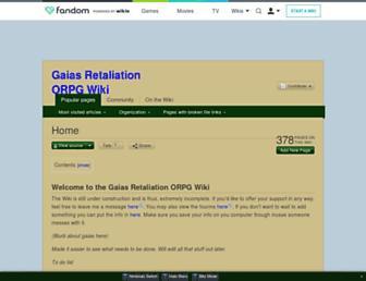 gaias-retaliation-orpg.wikia.com screenshot
