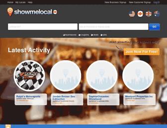 ca.showmelocal.com screenshot