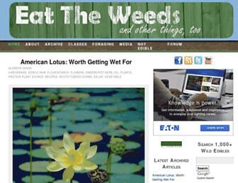 Thumbshot of Eattheweeds.com