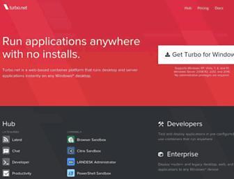 turbo.net screenshot