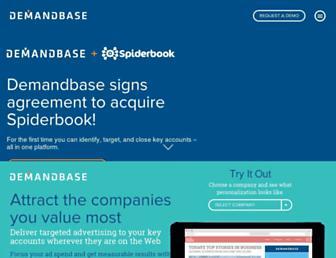 demandbase.com screenshot