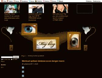 znxohw.blog.cz screenshot
