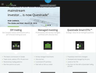 Thumbshot of Questrade.com