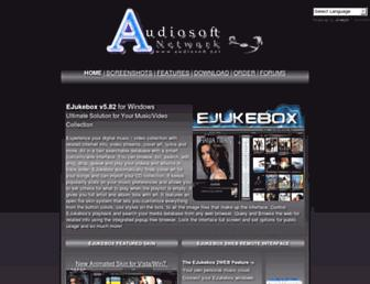 audiosoft.net screenshot
