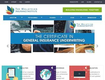 insurance.com.my screenshot