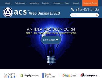 acs-web.com screenshot