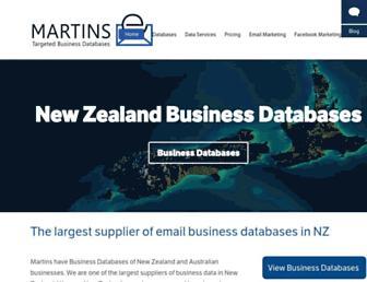 martins.co.nz screenshot