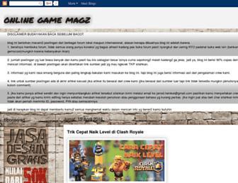 onlinegamemagz.blogspot.com screenshot