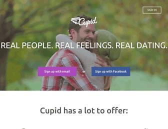 cupid.com screenshot