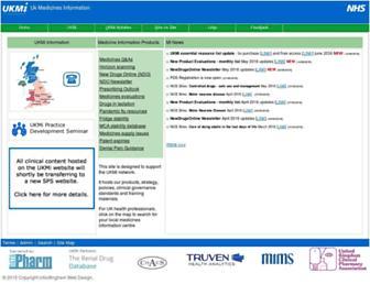ukmi.nhs.uk screenshot