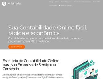 contsimples.com.br screenshot