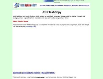 usbflashcopy.com screenshot