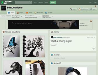 beatoctarionid.deviantart.com screenshot