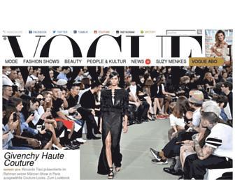 Thumbshot of Vogue.de