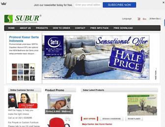 suburfurniture.com screenshot