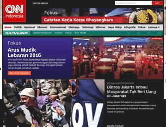 cnnindonesia.com screenshot
