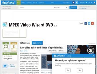 mpeg-video-wizard-dvd.en.softonic.com screenshot