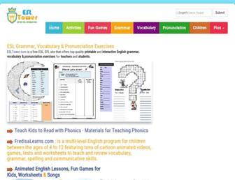 esltower.com screenshot