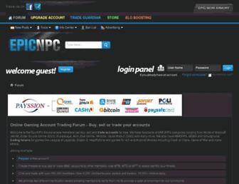 epicnpc.com screenshot