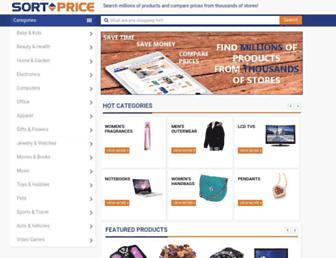 Thumbshot of Sortprice.com