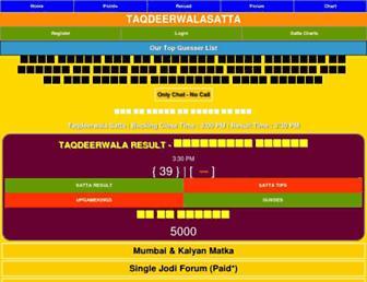 taqdeerwalasatta.com screenshot