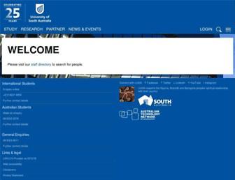 people.unisa.edu.au screenshot
