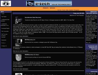 e-tech.ca screenshot