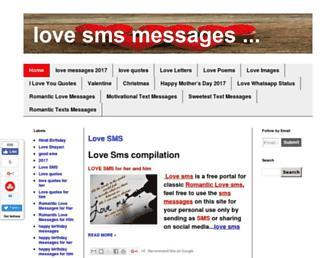 love-in-sms.com screenshot