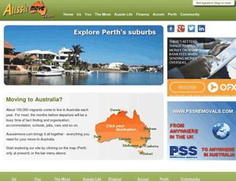 aussiemove.com screenshot