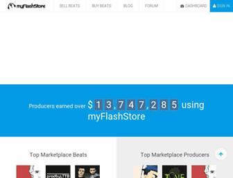 Thumbshot of Myflashstore.net
