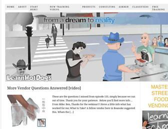learnhotdogs.com screenshot