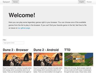 epicport.com screenshot