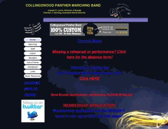 pantherband.net screenshot