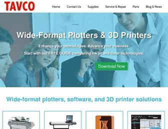 tavco.net screenshot