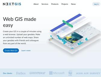 nextgis.com screenshot