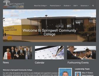 springwellcc.org screenshot