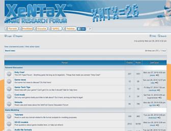 forum.xentax.com screenshot