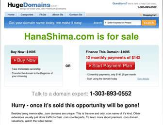Thumbshot of Hanashima.com