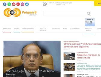 novo.paiquere.com.br screenshot