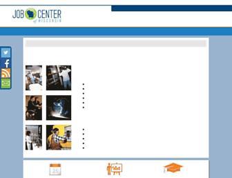 Screenshot for wisconsinjobcenter.org