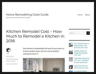 remodelingcosts.org screenshot