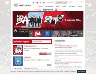 ergoarena.pl screenshot